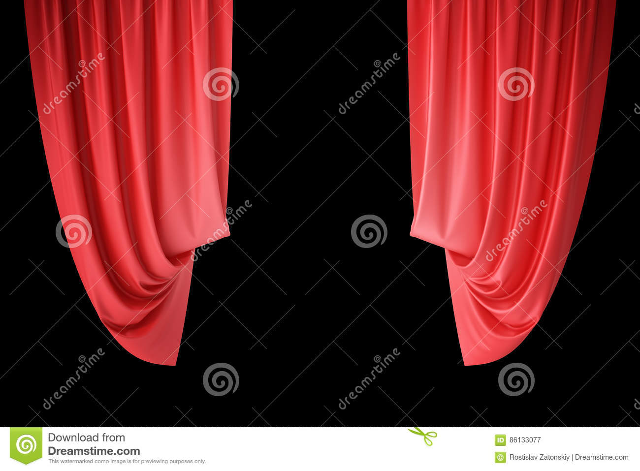 Open theater drapes or stage curtains royalty free stock image image - Red Velvet Stage Curtains Scarlet Theatre Drapery Silk Classical Curtains Red Theater Curtain
