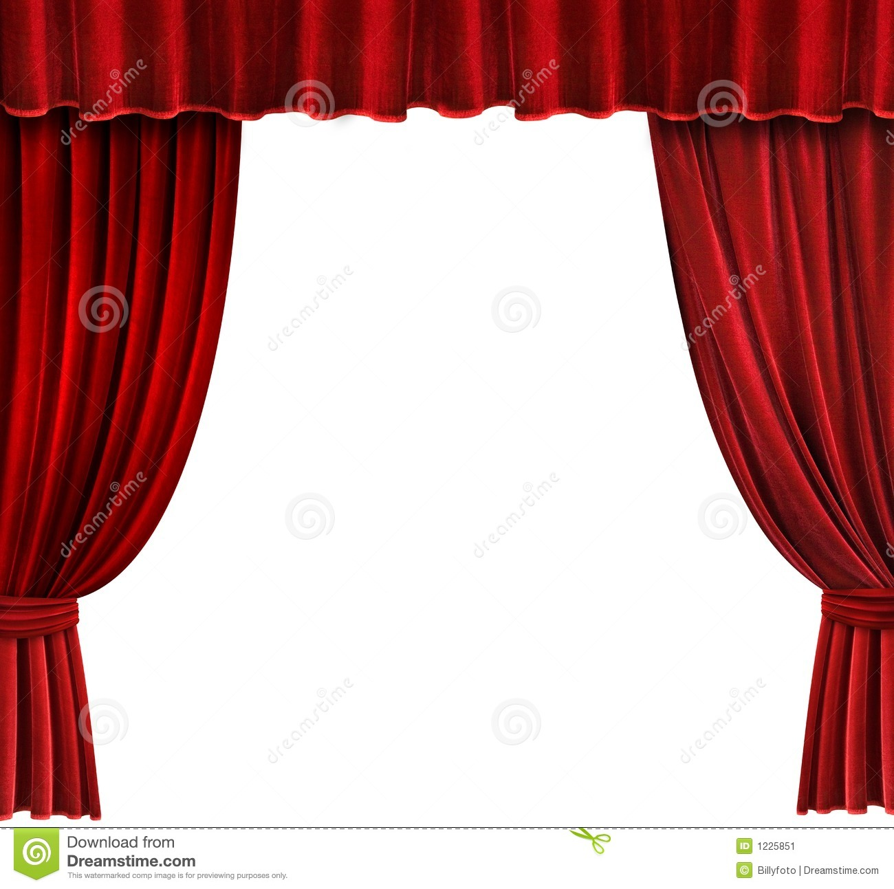 Fancy Living Room Curtains Red Velvet Lamps