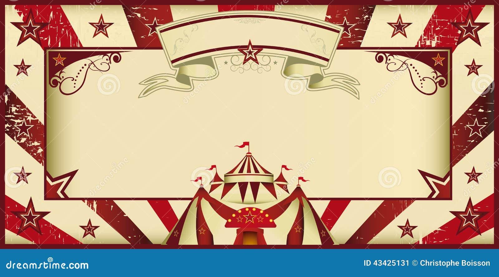 Circus Theme Invitation as amazing invitation sample