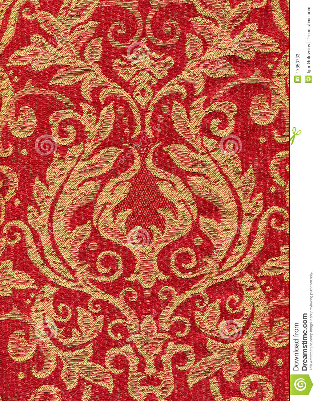 Red vintage fabric stock photos image 17853783 for Vintage fabric