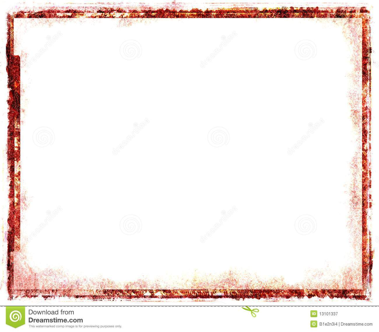 Red Vintage Frame Royalty Free Stock Photography Image