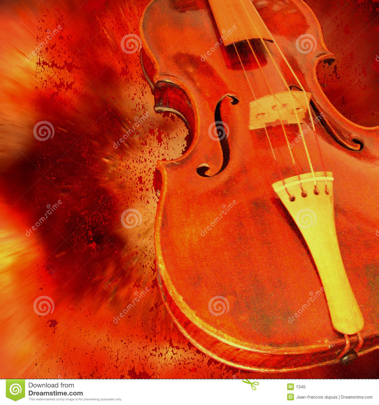 Download Red violin stock photo. Image of audience, perform, gentle - 1340