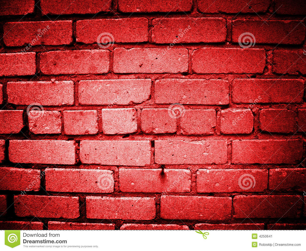 Red Wall : Red Wall Stock Image - Image: 4250641