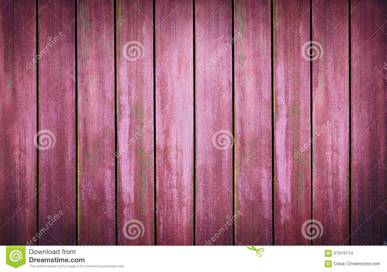 Red Washed Wood Texture Background Old Panels Stock Photo