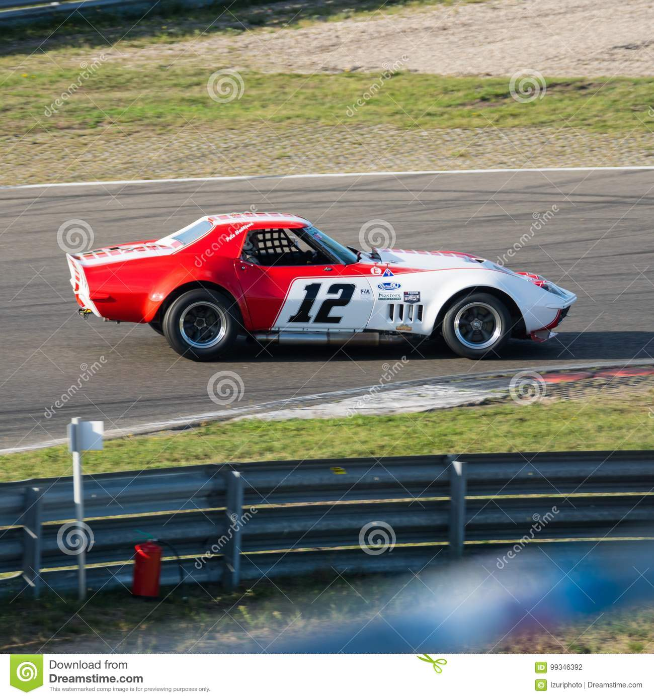 American classic race car number 12