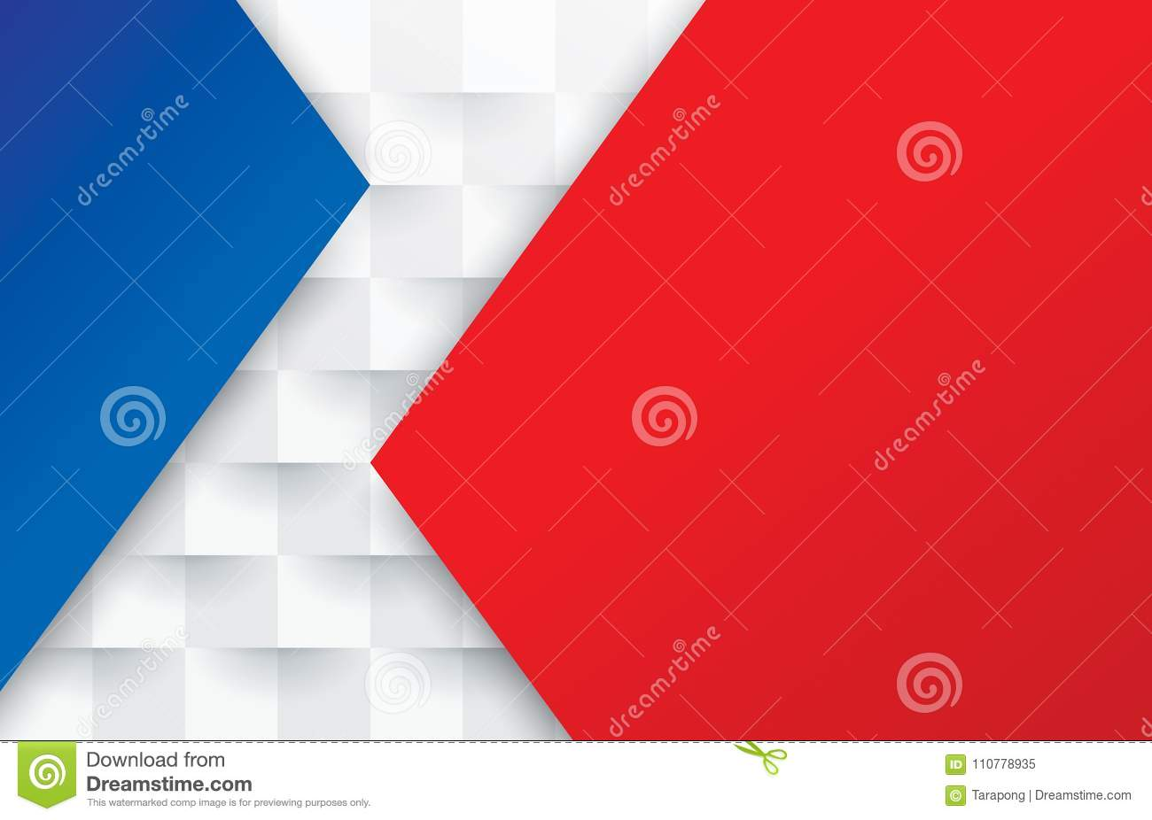 Red White And Blue Abstract Texture Vector Background