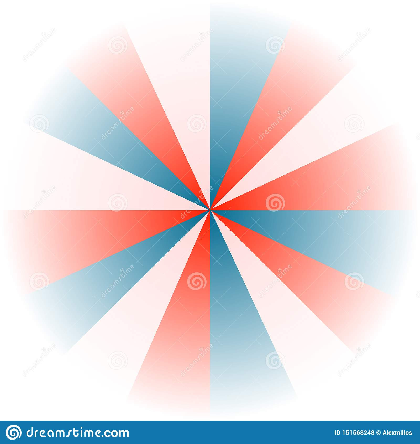 red, white and blue background
