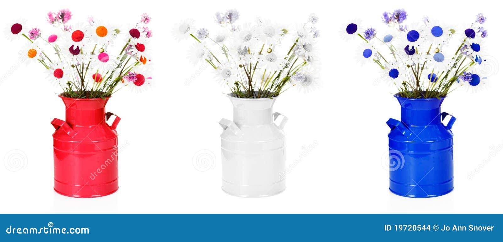 Red white blue flower arrangements stock photo image of oxeye red white blue flower arrangements mightylinksfo
