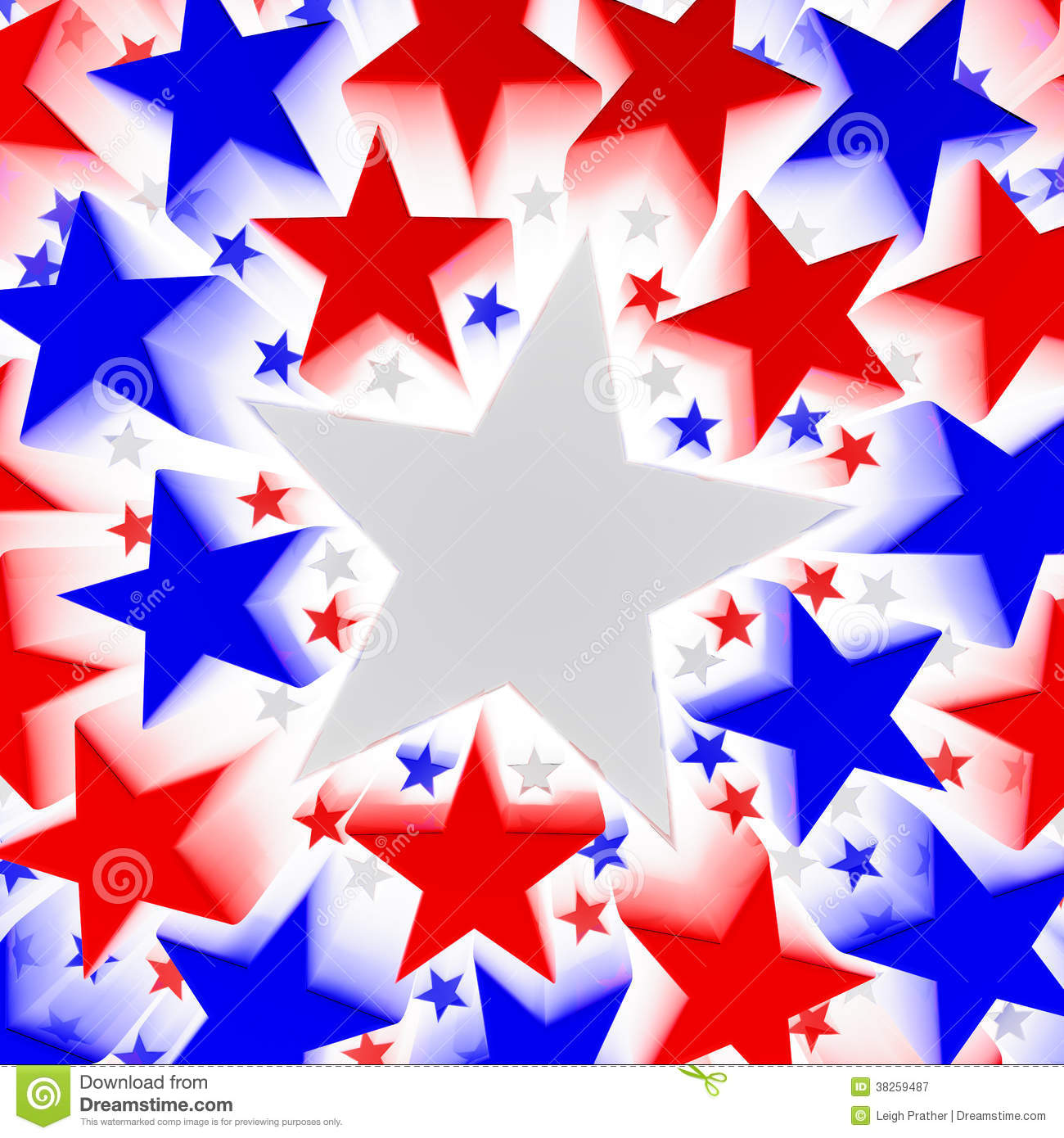 Red, White, And Blue Stars Royalty Free Stock Photography ... - photo#36