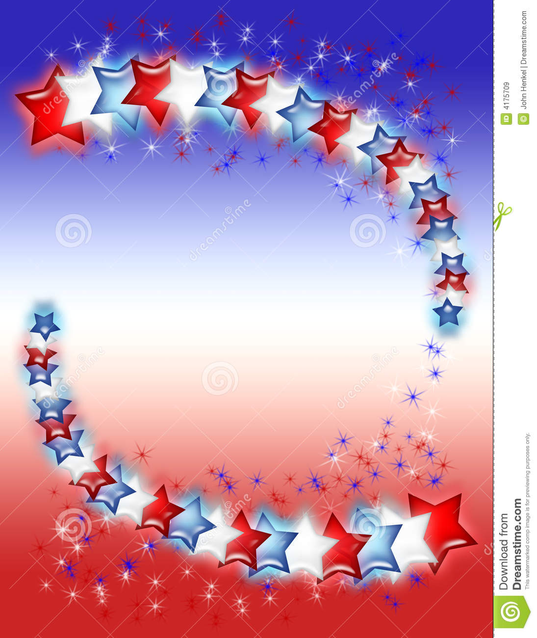 red white and blue stars stock illustration illustration of color 4175709 dreamstime com