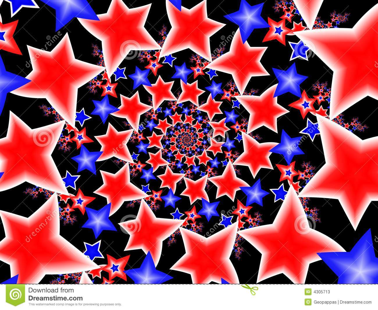 Red White & Blue Stars stock illustration. Image of ... - photo#38