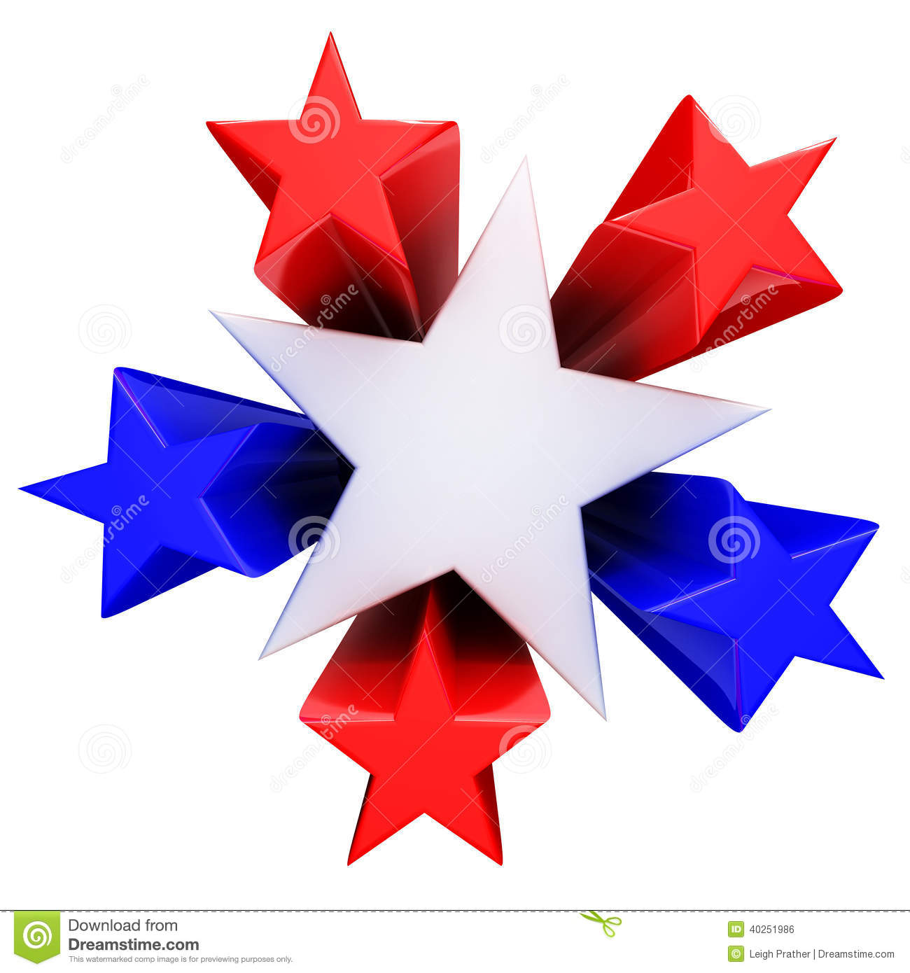 Red, White And Blue Stars Stock Illustration - Image: 40251986 - photo#20