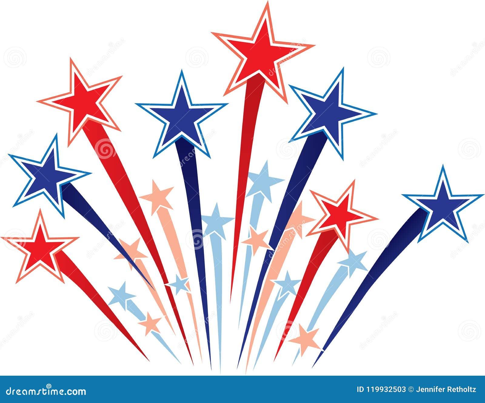 Red White and Blue Stars stock illustration. Illustration of logo ... 9bf9be107f64
