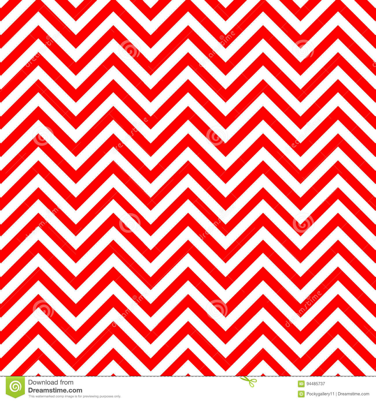 red and white chevron pattern stock illustration