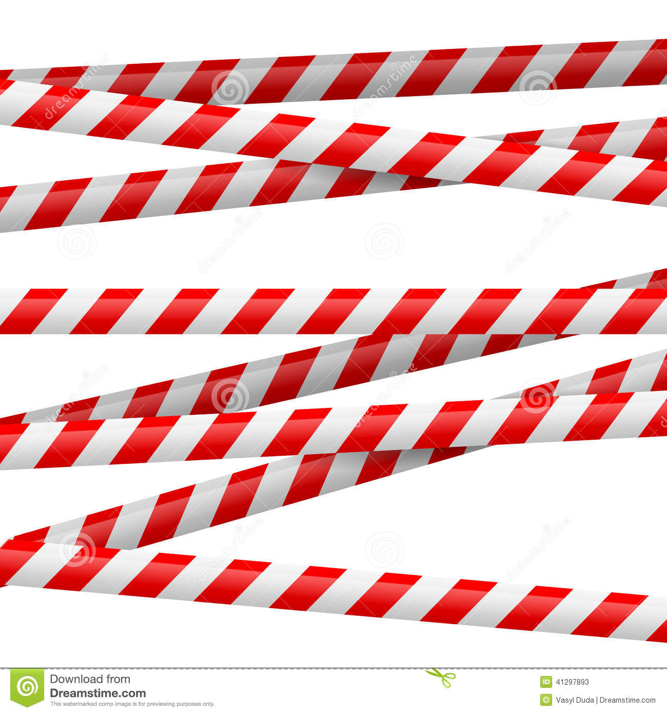 Red And White Danger Tape Stock Illustration - Image: 41297893 - photo#8