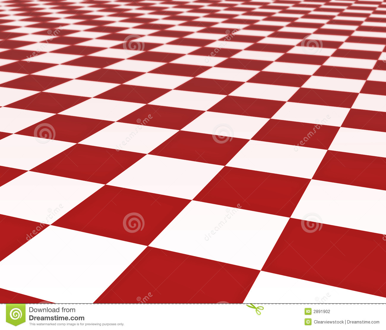 Red And White Floor Tiles Stock Illustration Illustration Of Tiles