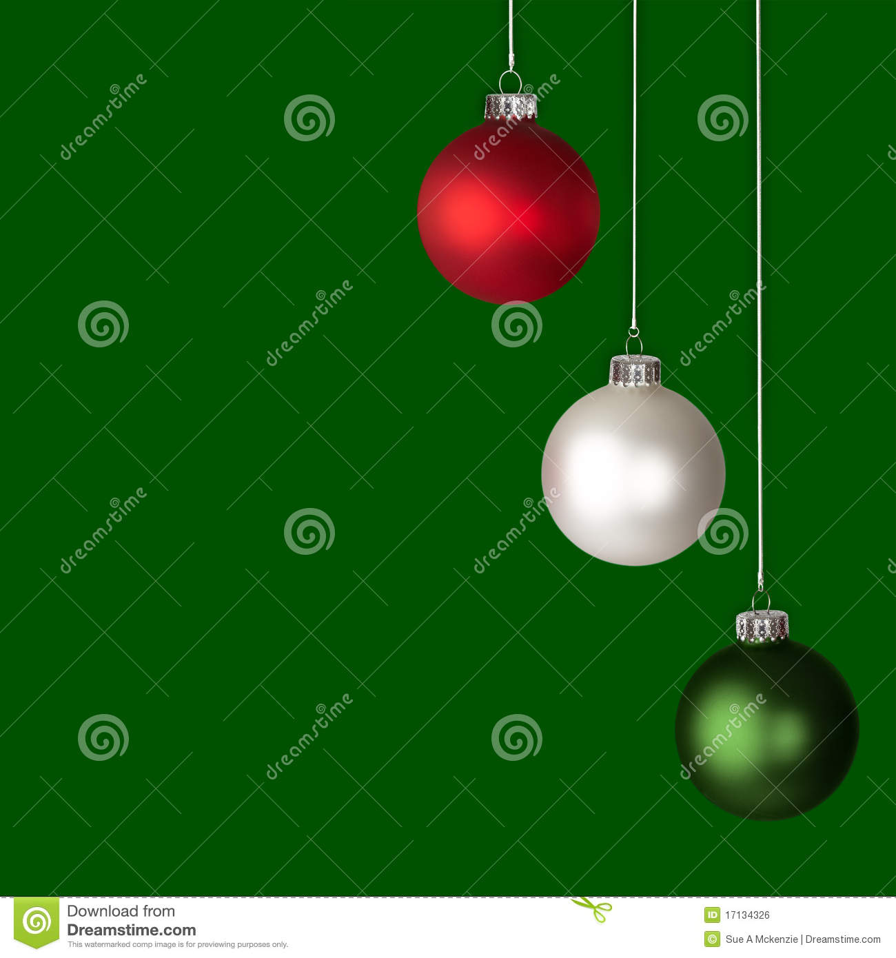 download red white and green christmas ornaments isolated stock illustration illustration of frosted - Red White Green Christmas Decor