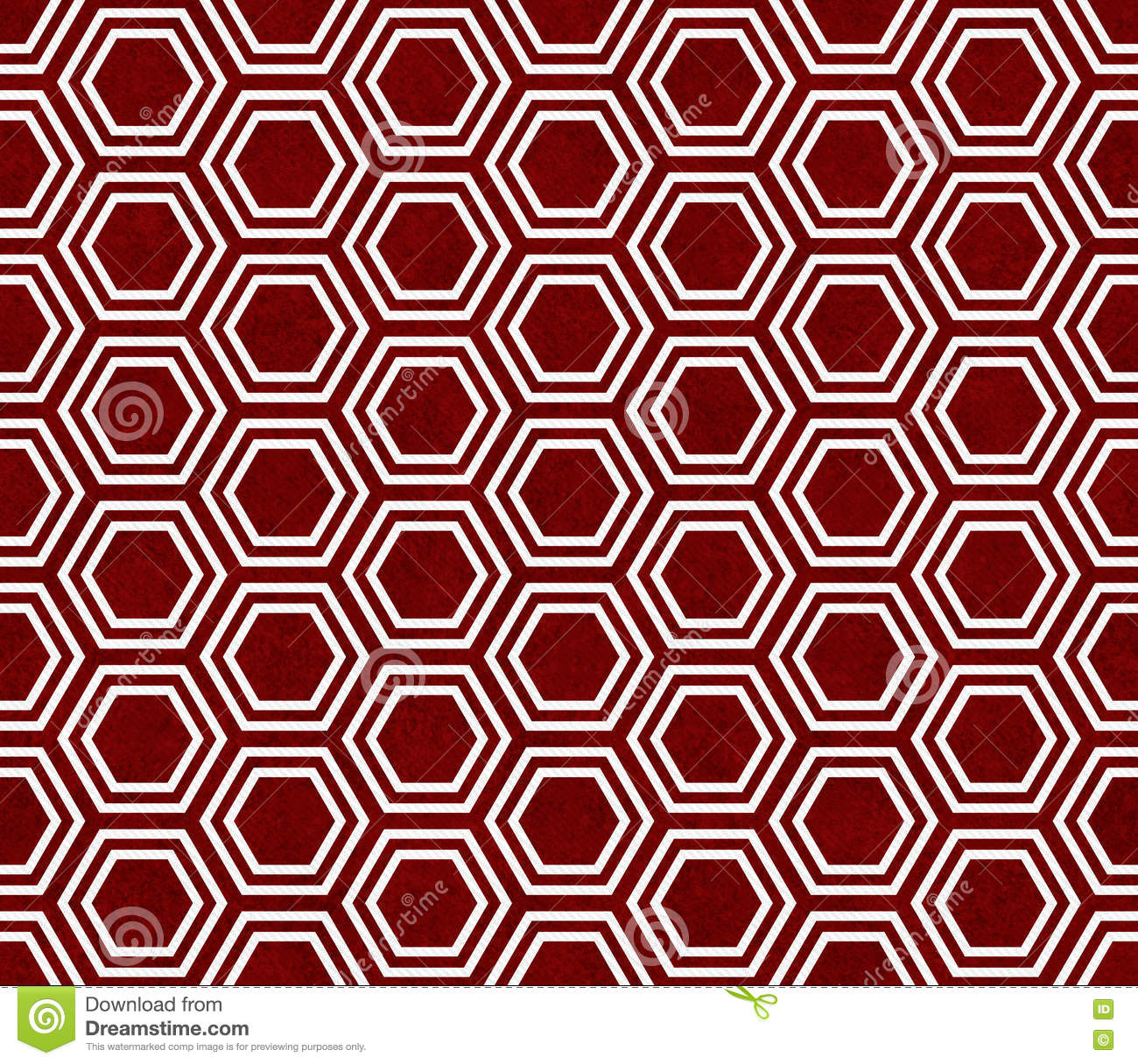 Red And White Hexagon Tile Pattern Repeat Background Stock ... - photo#11