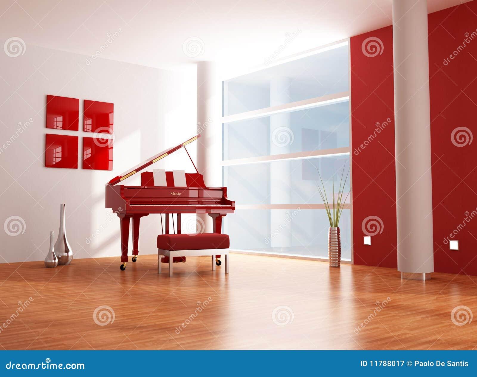 red and white music room stock illustration illustration of vase rh dreamstime com