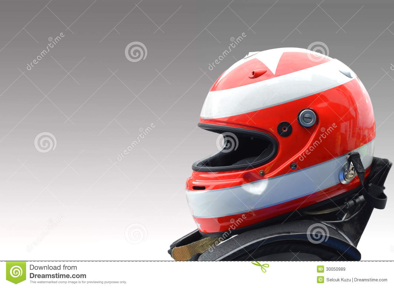 Car Racing Helmet Royalty Free Stock Images - Image: 30050989