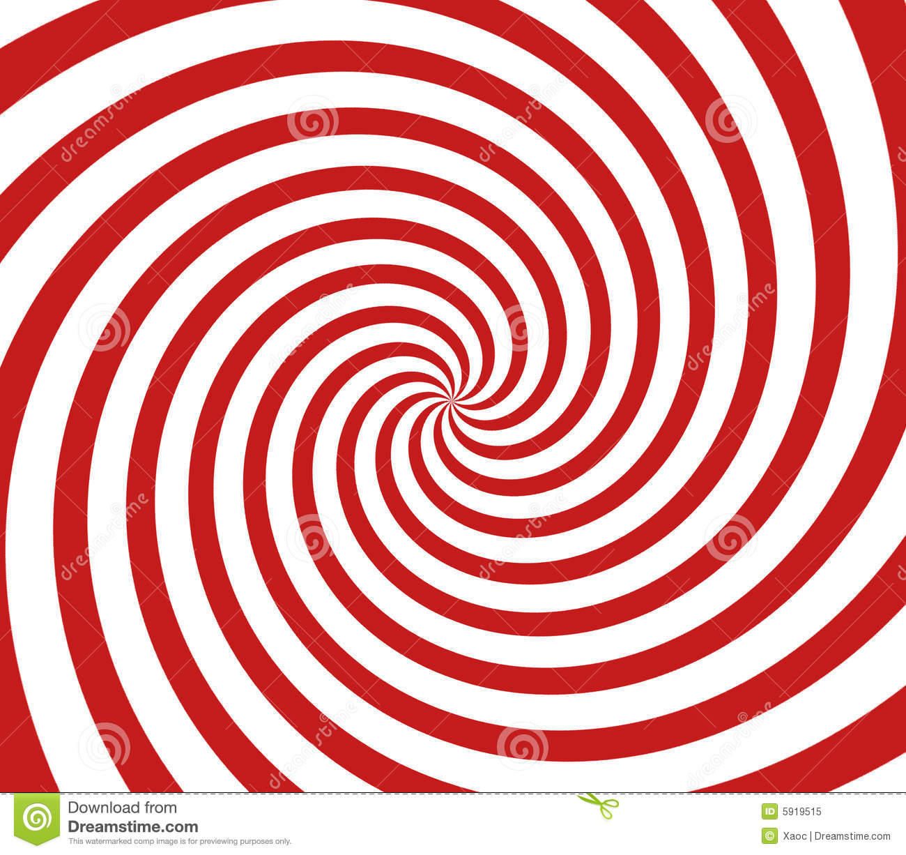 Red And White Spiral Royalty Free Stock Photo - Image: 5919515