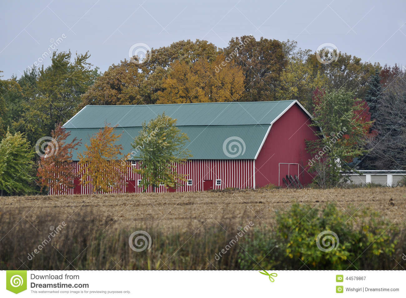 Behind the barn extended and enlarged 6