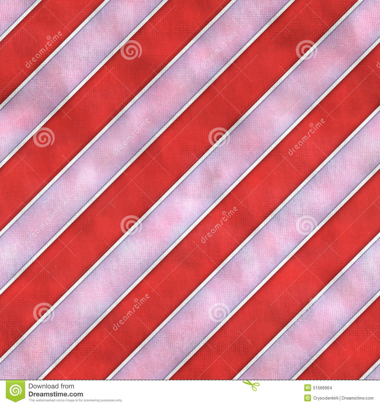 Red and White Striped Cloth Seamless Tile Texture Background