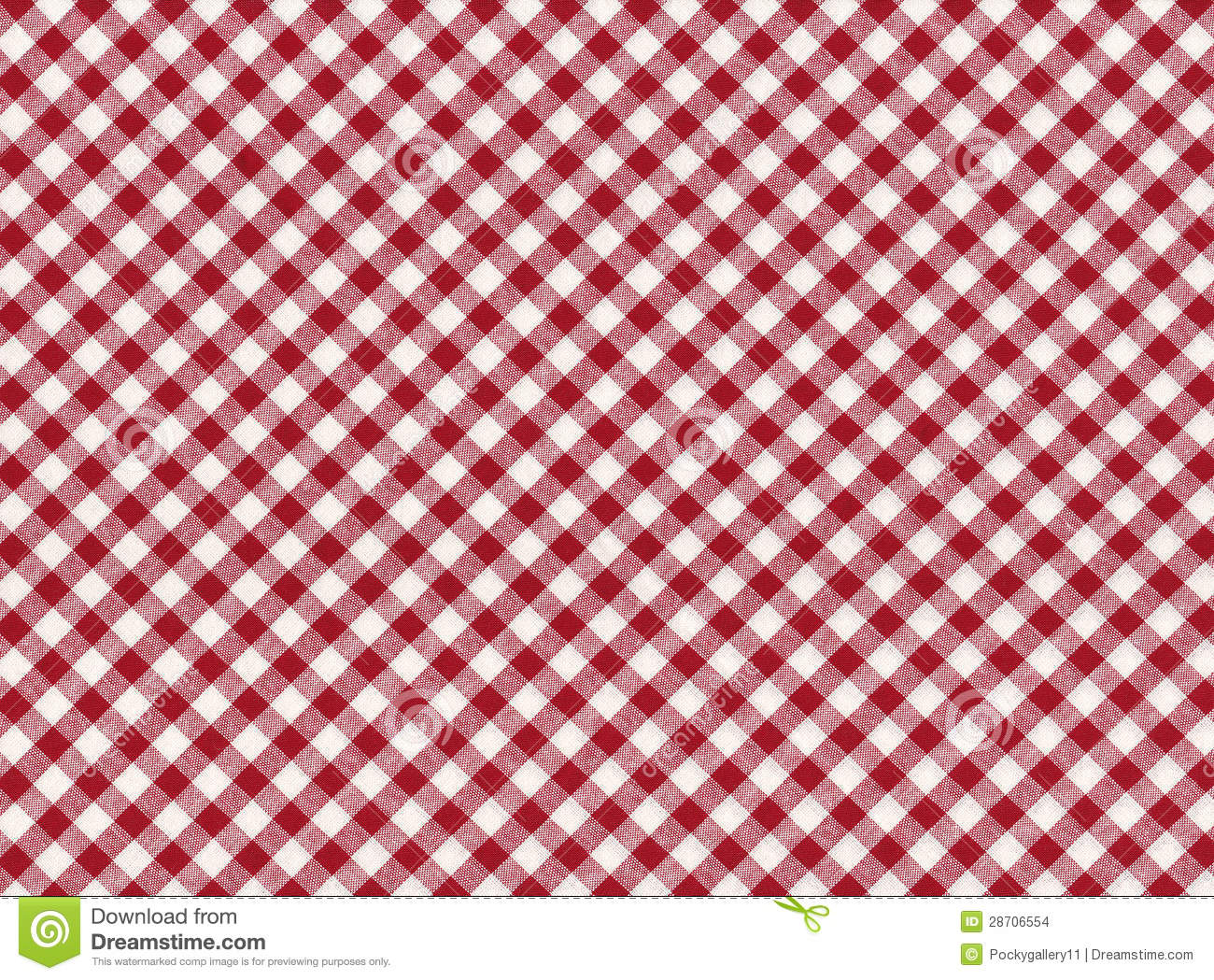 Royalty Free Stock Photo. Download Red And White Striped Seamless Tablecloth  ...