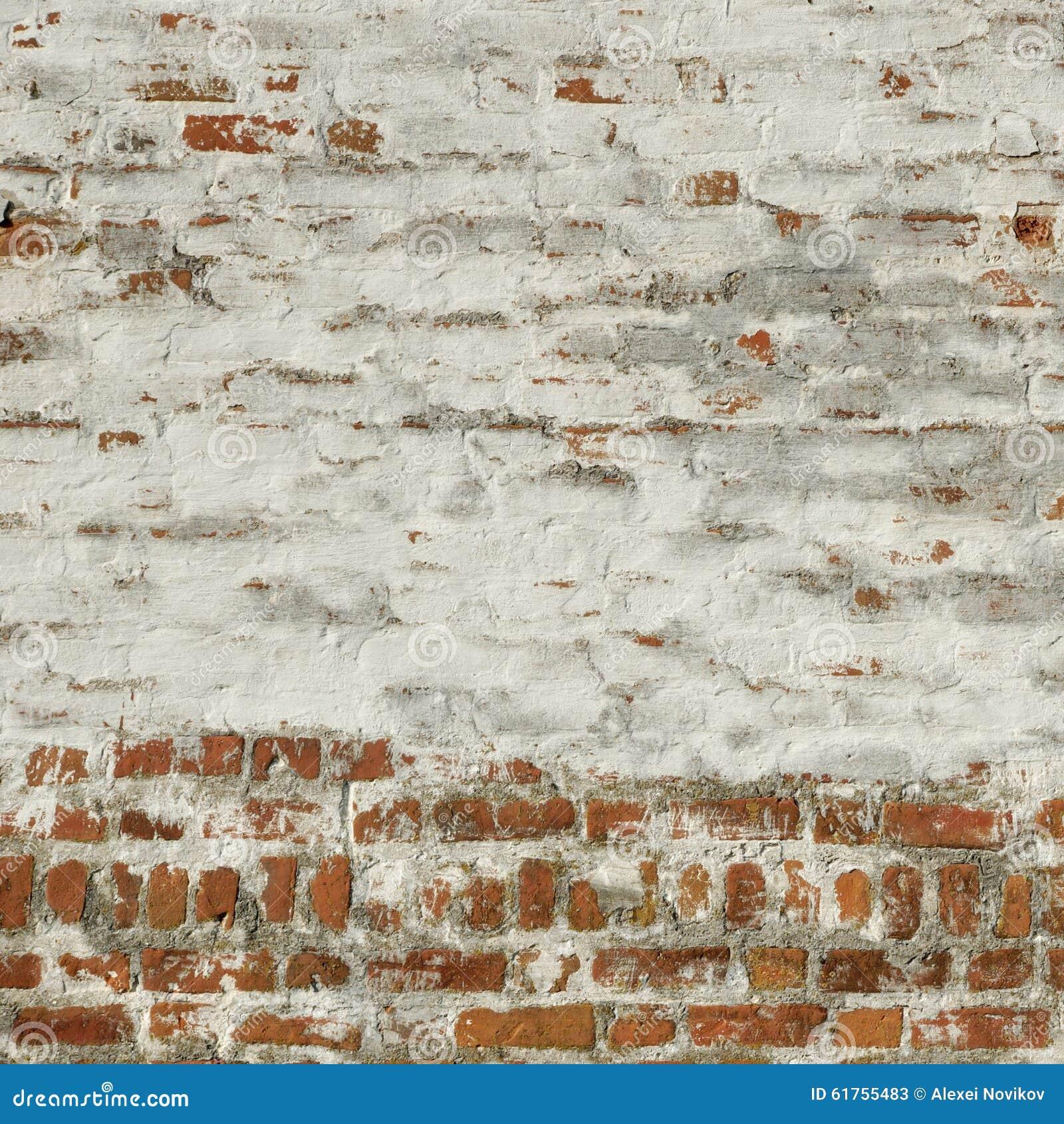 Whitewash Brick Wall: Red White Vintage Brick Wall Whitewash Frame Background