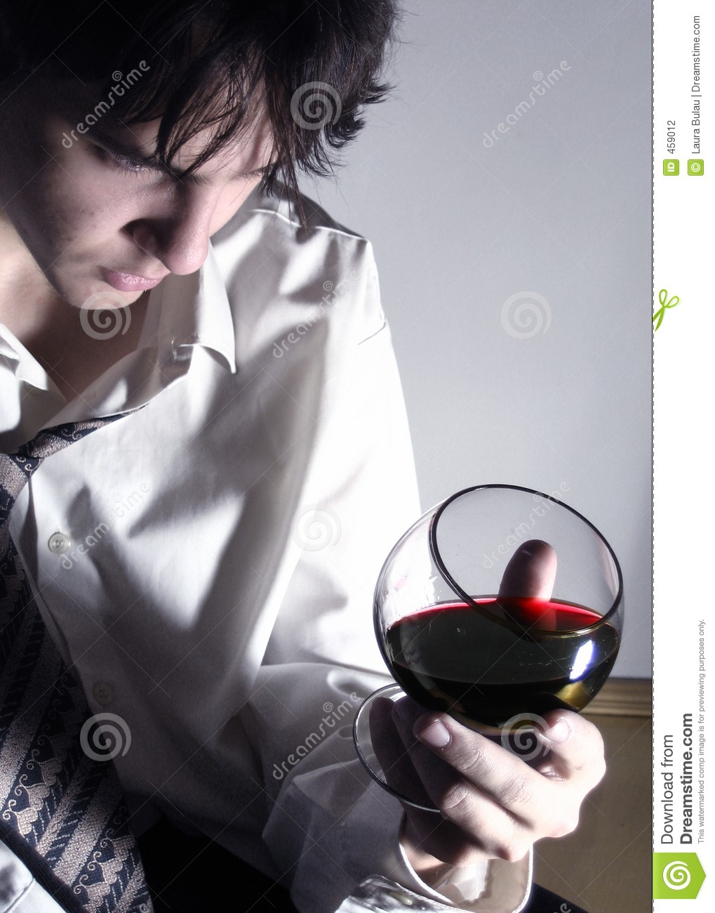 Download Red wine 3 stock photo. Image of head, look, hair, glass - 459012