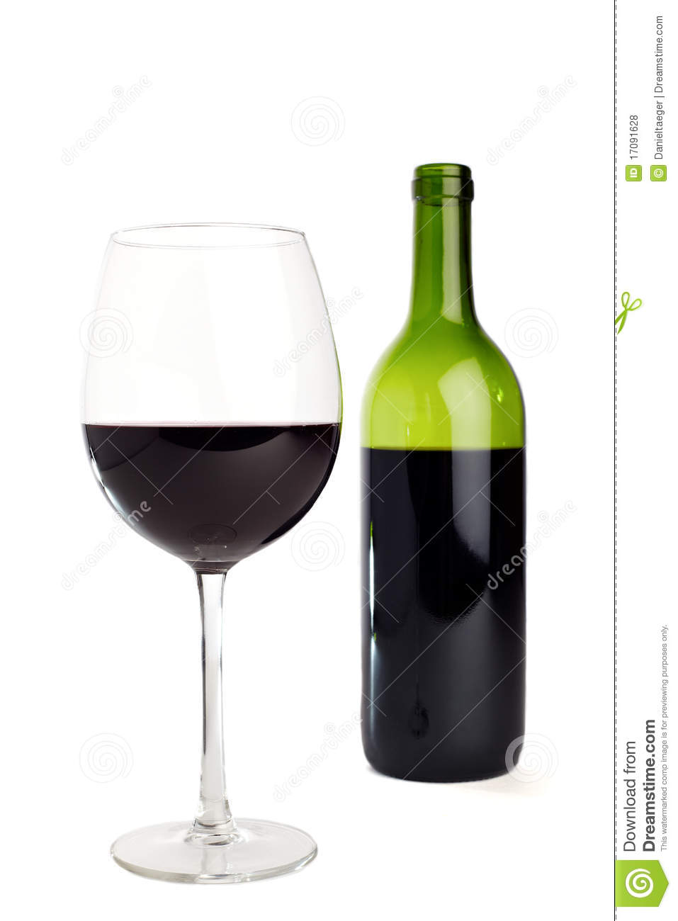 Red wine bottle and glass royalty free stock photos for Wine bottle glass