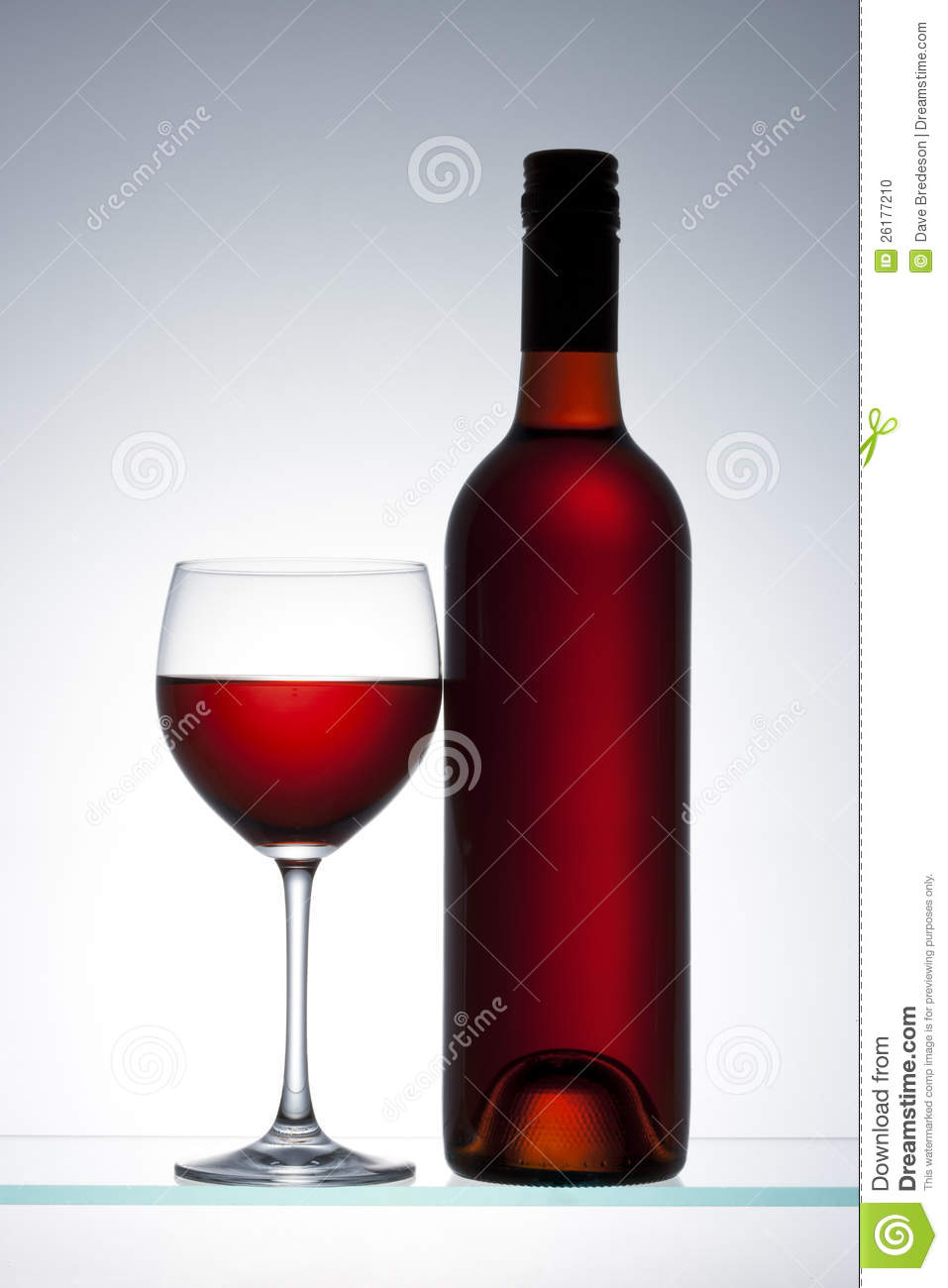 Red wine bottle glass stock photo image 26177210 for Wine bottle glass