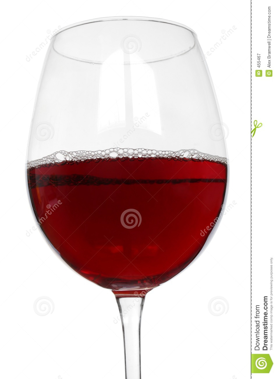 Download Red Wine Glass stock image. Image of celebrate, chill, love - 455467
