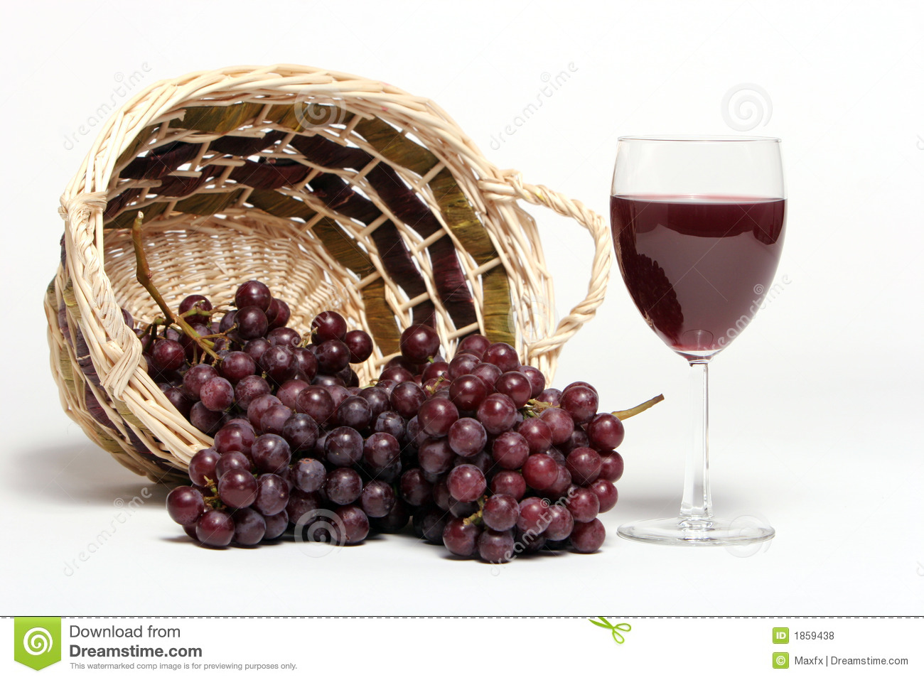 Red wine and grapes stock photo. Image of sauvignon ...