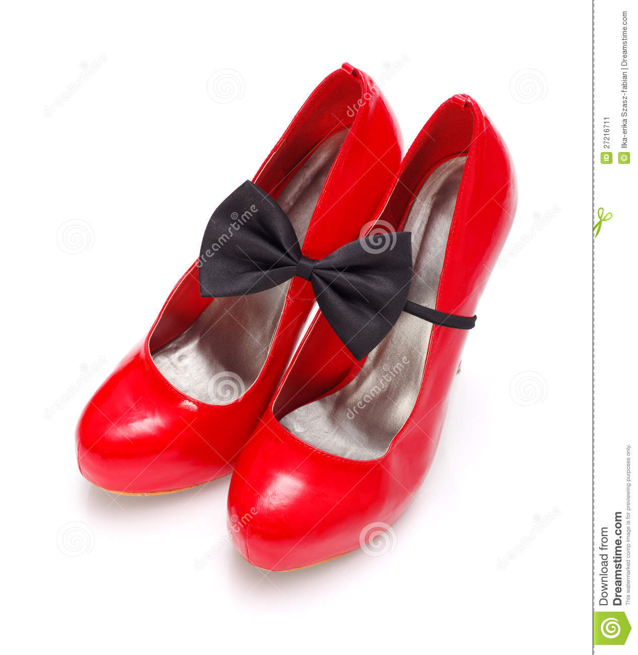 Red Woman Shoes Royalty Free Stock Photography - Image: 35057047