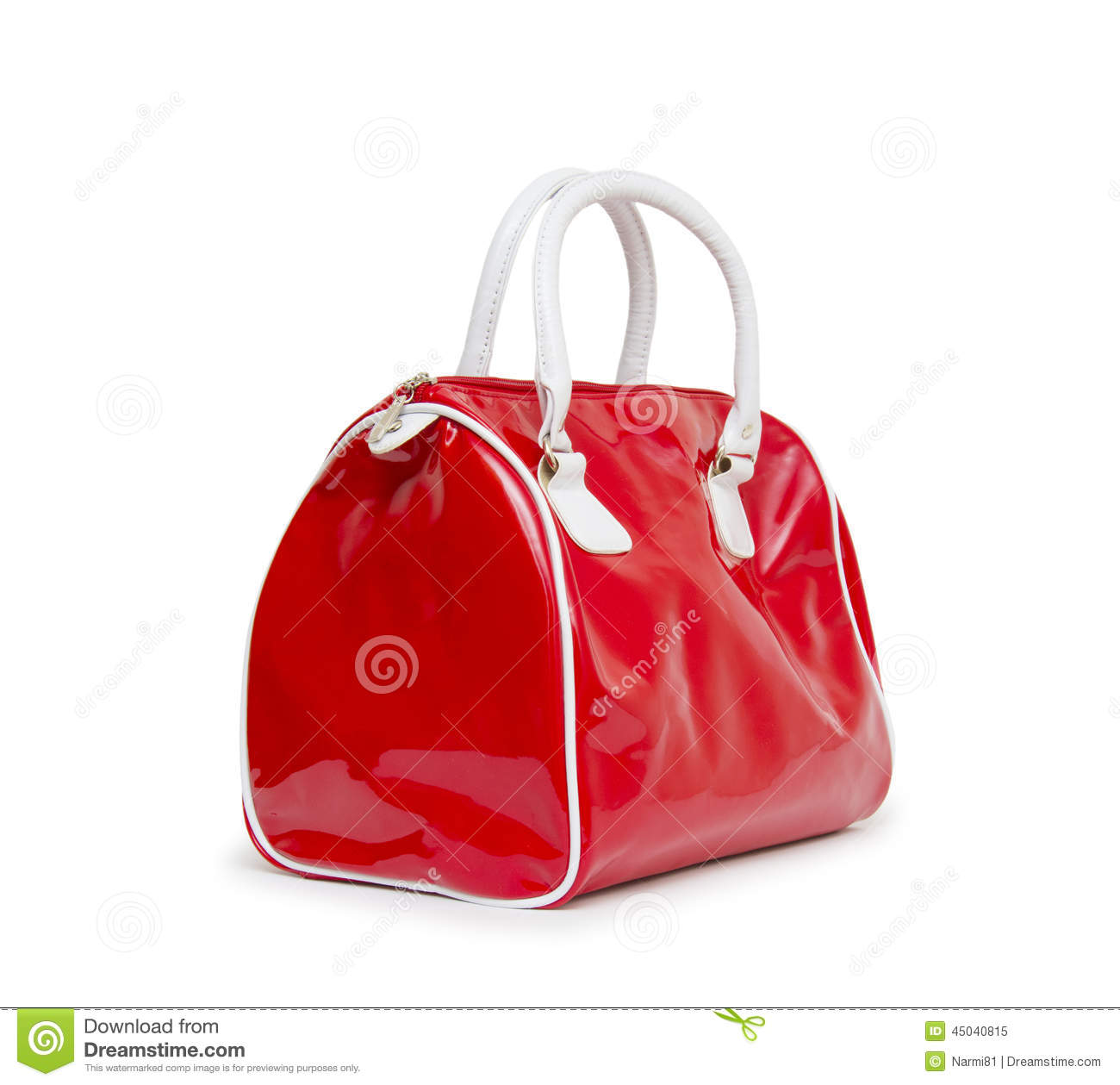 cb387552ece96 Red Women Bag Isolated On White Background Stock Image - Image of ...