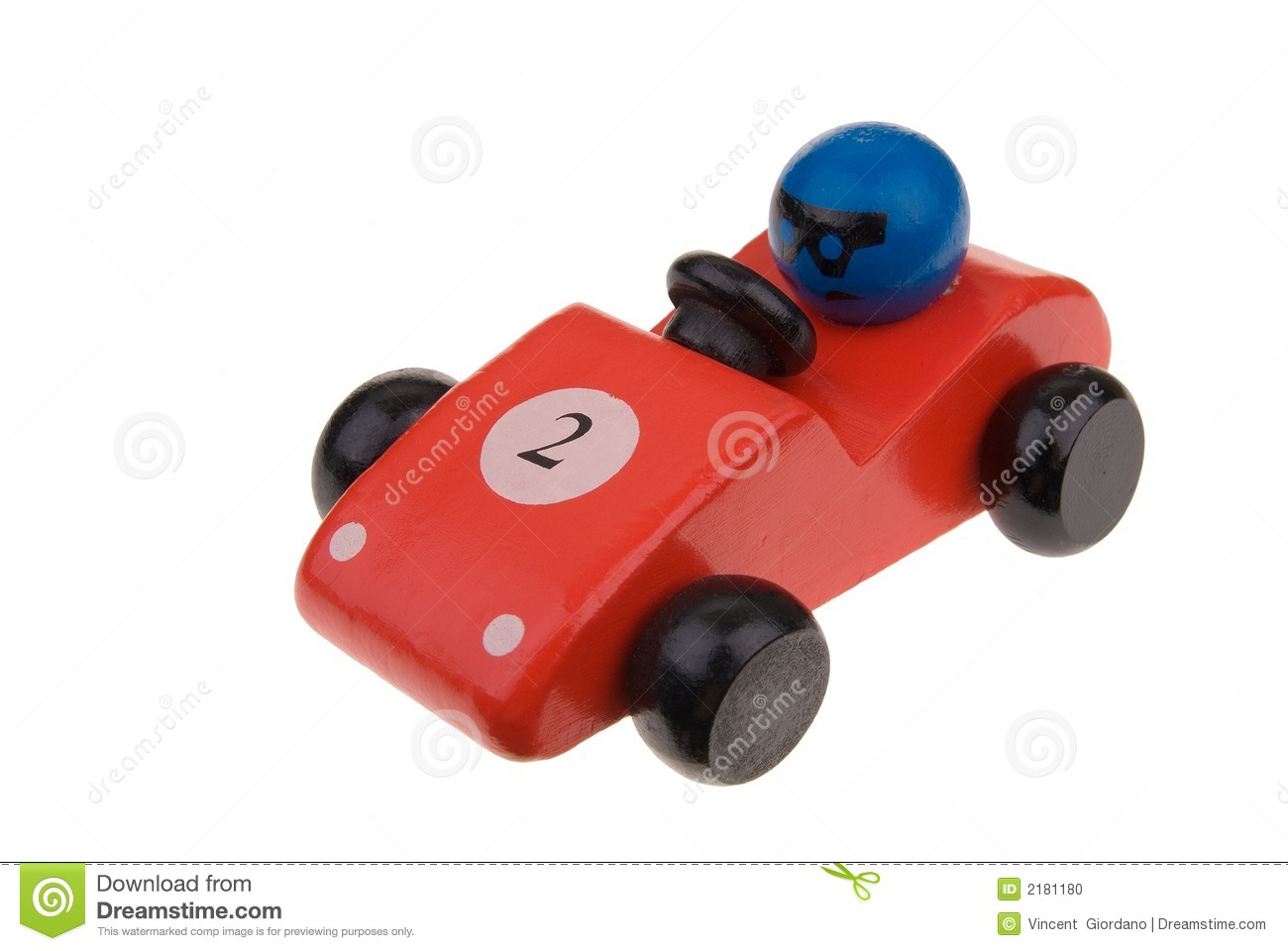 Toy Race Cars : Red wooden toy race car stock photo image of icon baby