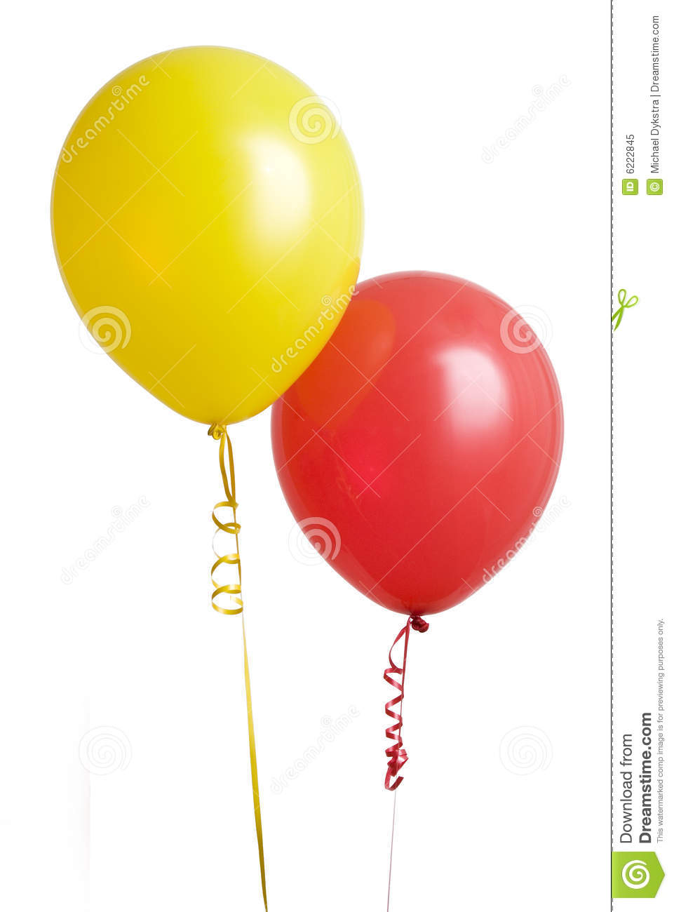 Red And Yellow Balloon Royalty Free Stock Photo - Image: 6222845