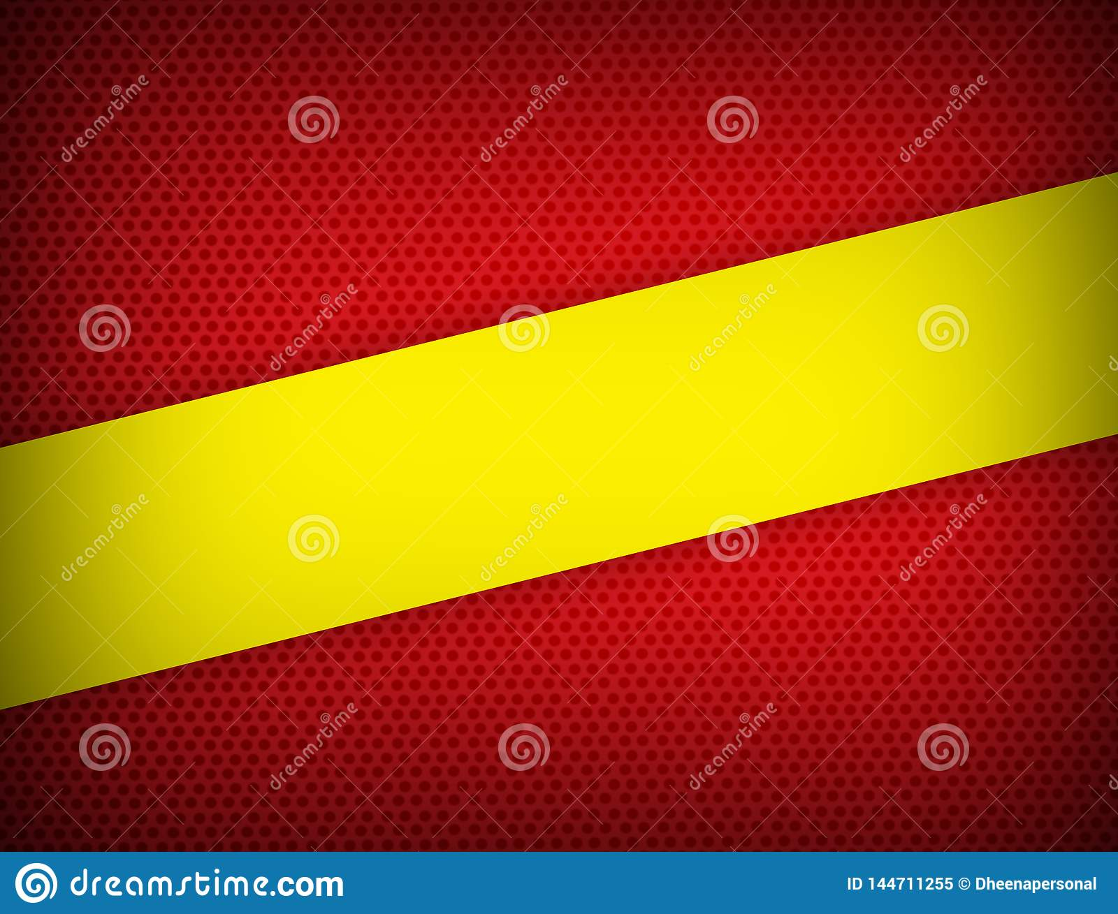 Red and yellow color geometric abstract background modern design with copy space Vector illustration.