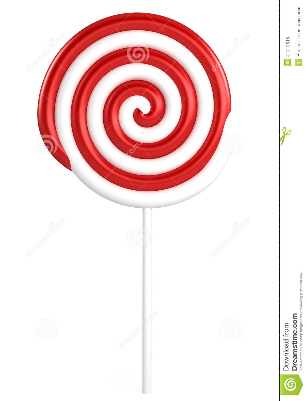 Red Yellow And Green Lollipop Royalty Free Stock Image