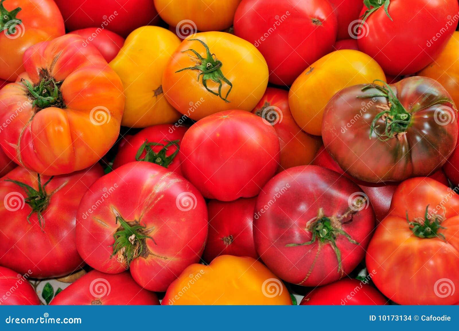 yellow heirloom tomatoes - photo #41
