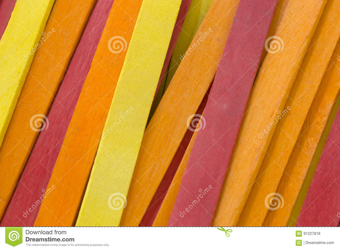 Colored Popsicle Sticks Stock Photos Royalty Free Images