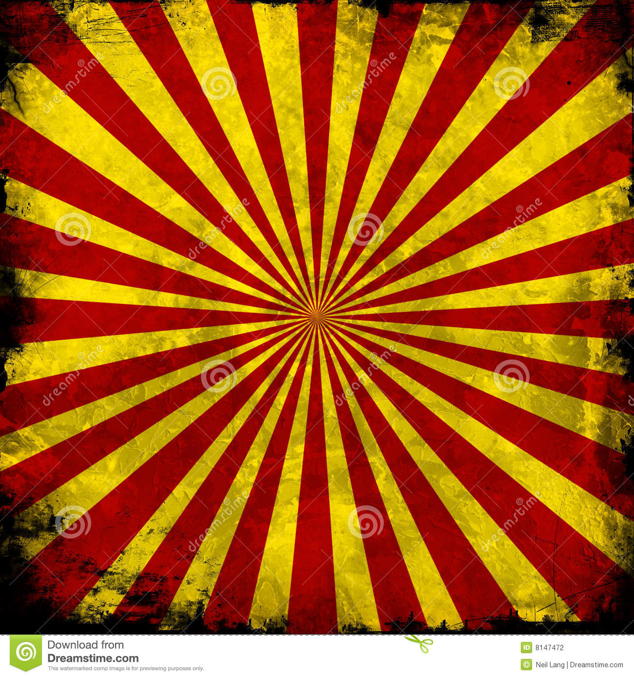 Red and yellow pattern