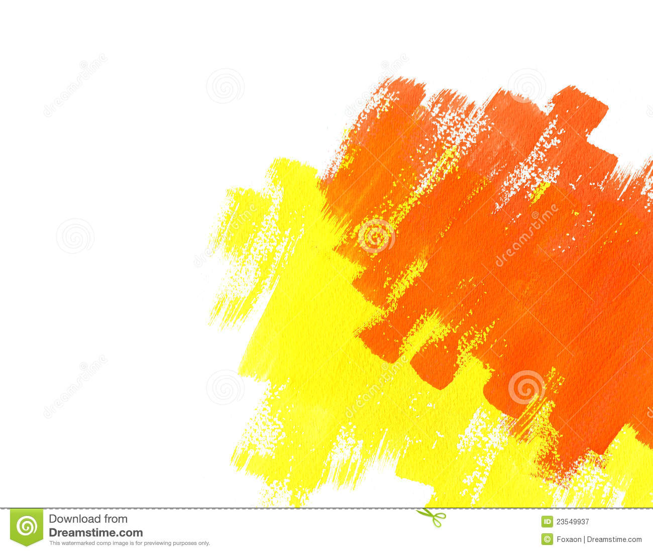Color Paint red and yellow water color paint texture royalty free stock image