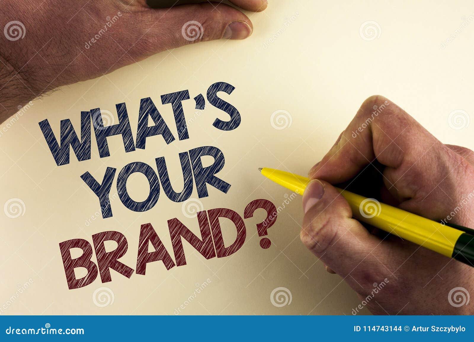 Redacte el texto de la escritura cuál es su pregunta de la marca El concepto del negocio para la marca registrada individual Defi