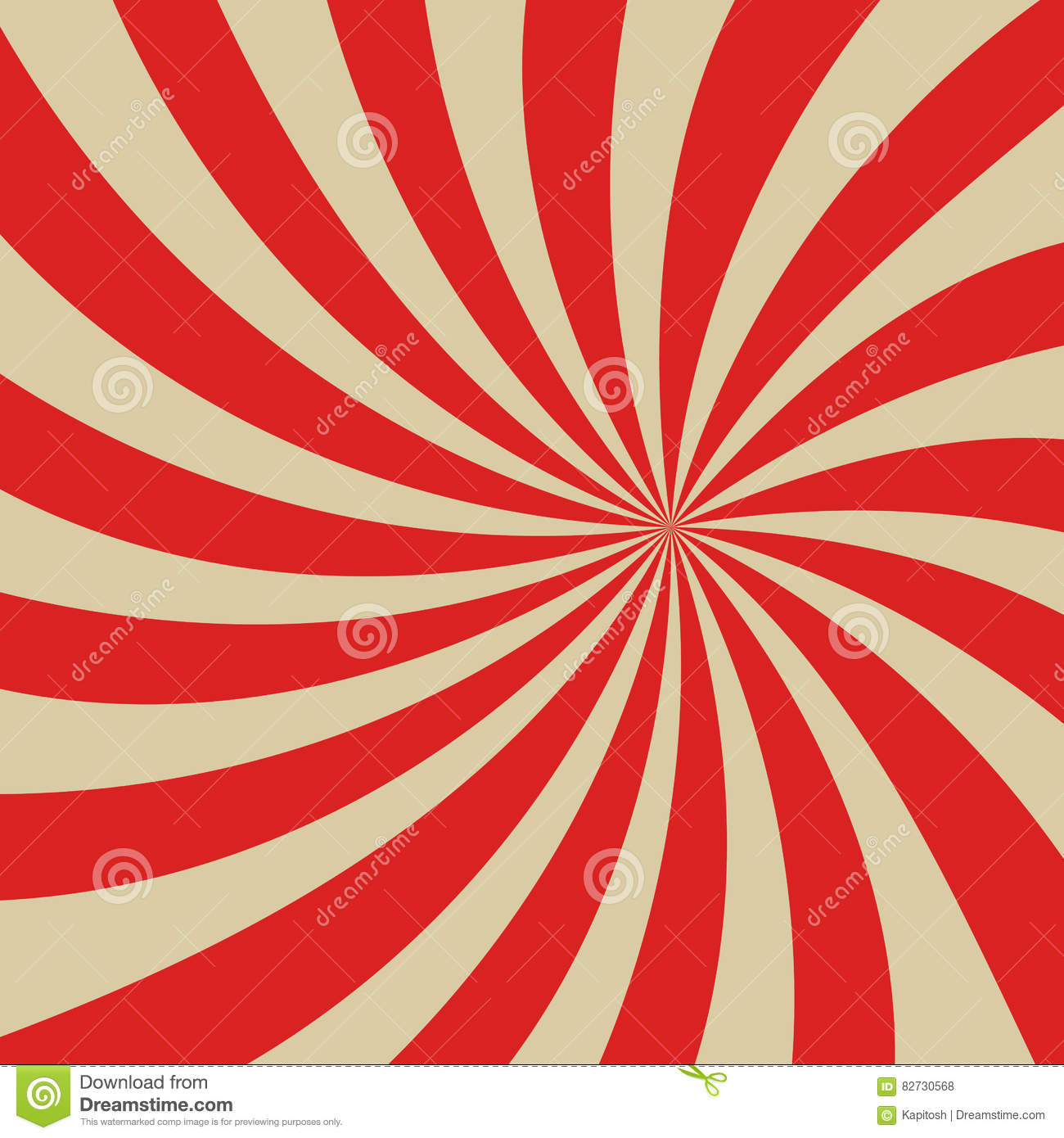 Redbackground pop art stock vector. Illustration of cone - 82730568