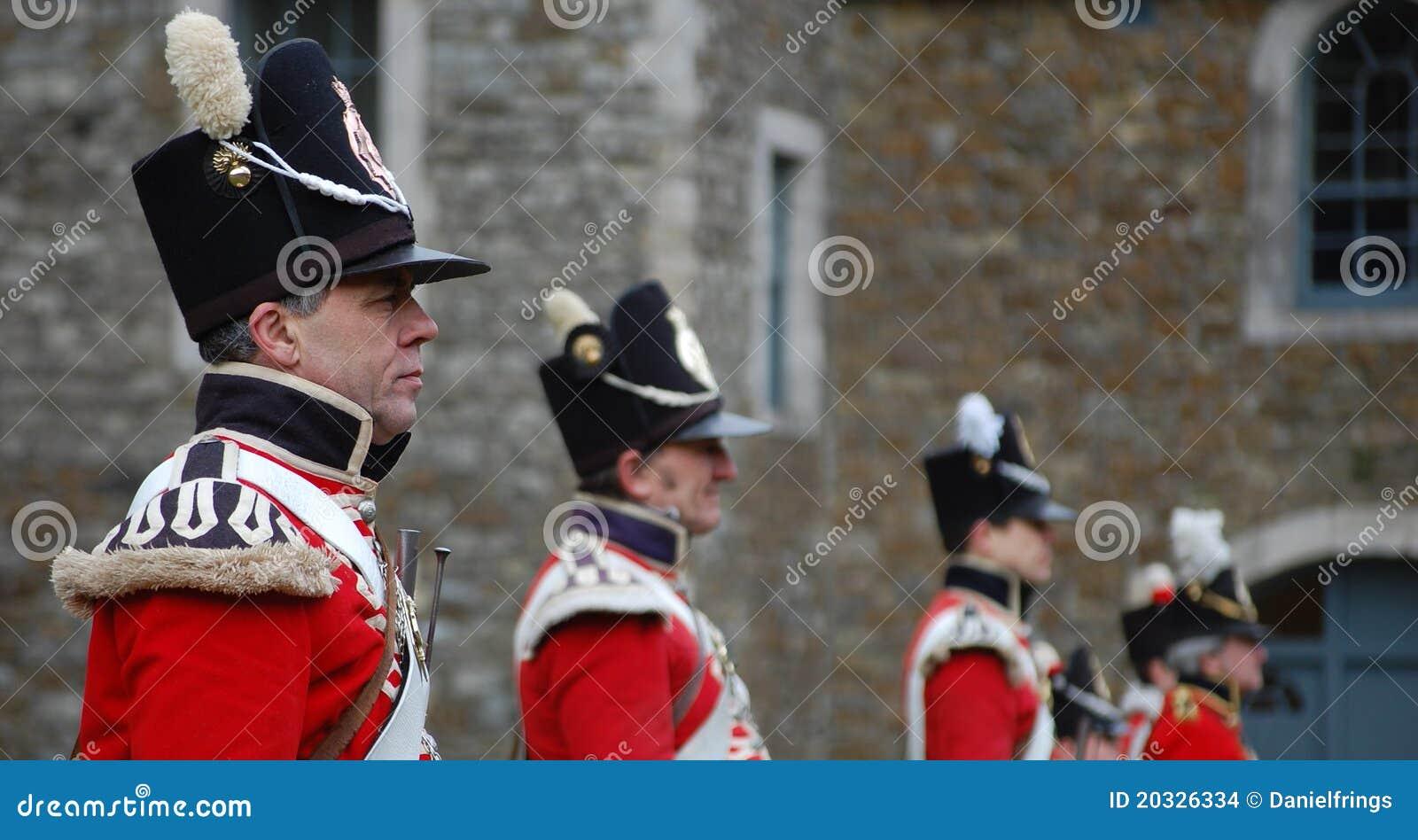 Redcoats britanniques