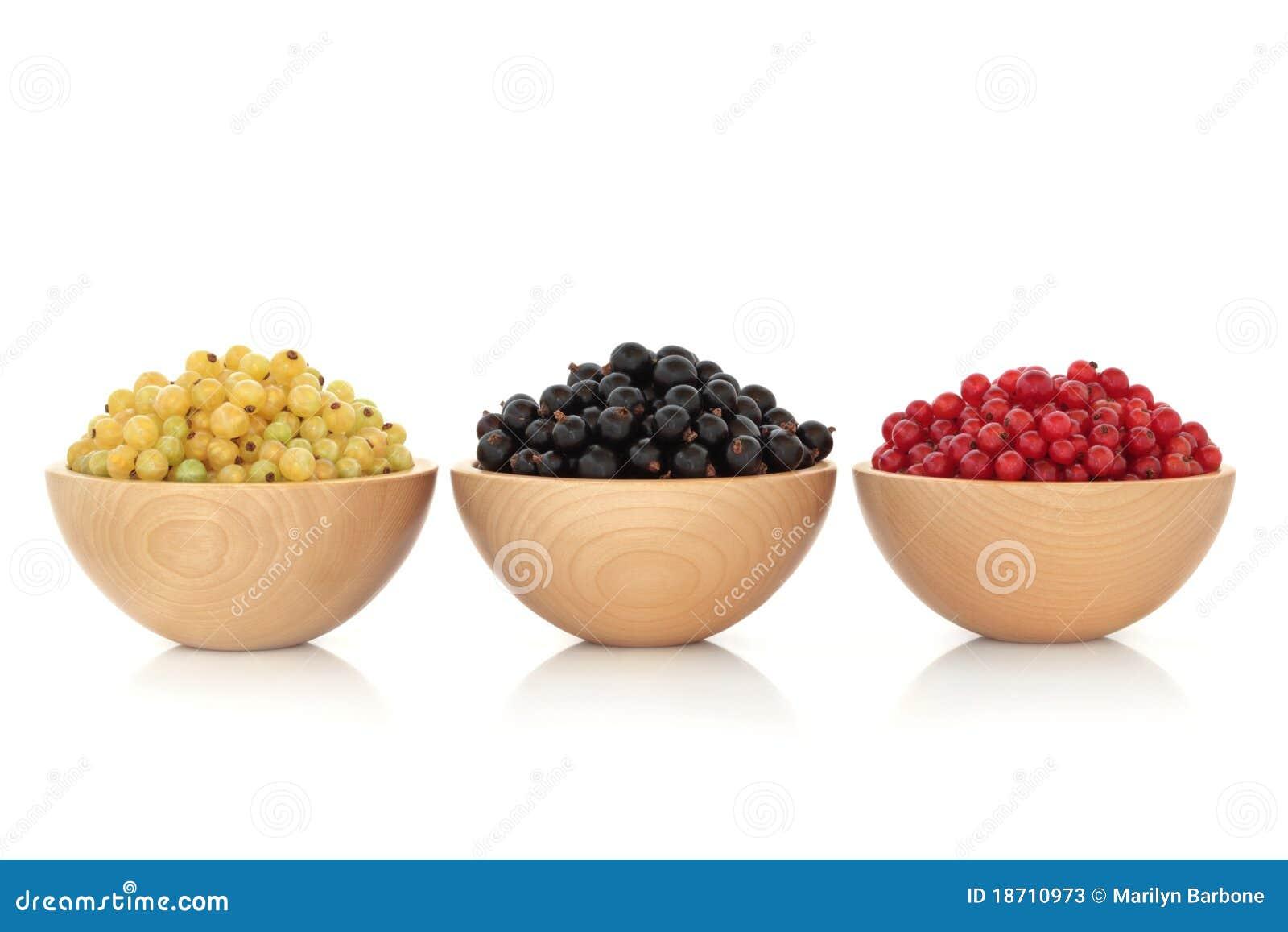 Redcurrant Blackcurrant and Whitecurrant Fruit