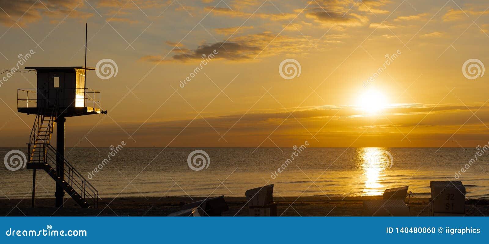 Reddingstoren - Oostzee - Usedom-Eiland