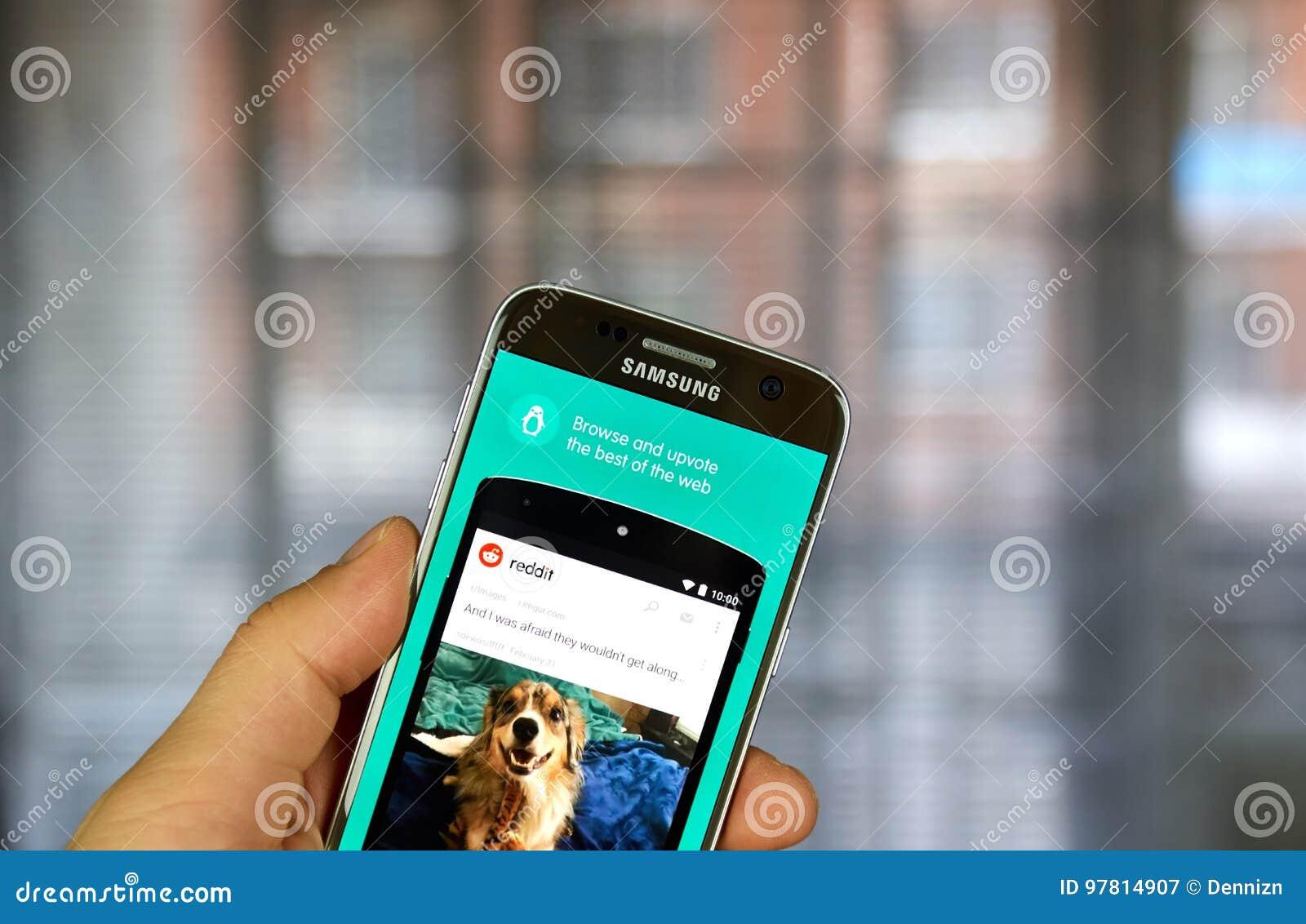 Download Reddit App On Samsung S7 Editorial Photography Image Of Gonewild 97814907